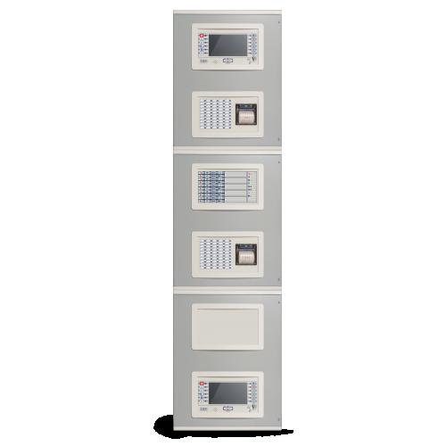 مرکز کنترل اعلام حریق 2 لوپ قابل گسترش تا 16 لوپ Previdia 216